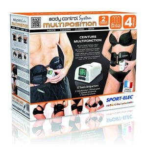 Ceinture electrostimulation Sport-Elec Ceramic Body Solution